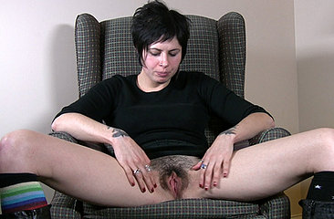 Luna talks about her inner most fantasies and makes herself too horny thinking about it. Watch her swirl a big vibrator inside her wet bush while rubbing her stiff clit.