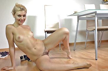Pretty Fedora in hairy porn
