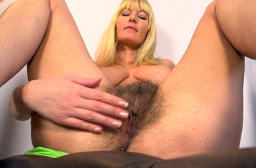 Hairy Vanessa J has just come home from a party and she looks so good that she wants to see herself naked. She takes off all her clothes then spreads her legs open so she can examine her hairy bush.