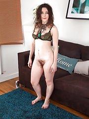 Franckoh enjoys stripping naked on her sofa
