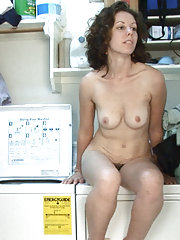 Candy Smith cleans clothes for hairy fun