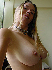 Big firm tits and a hairy pussy are nice