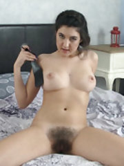 Pavla strips naked but has a secret paddle nearby