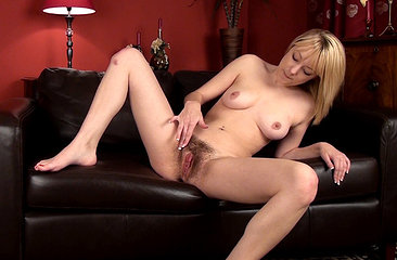 The living room is where Melissa Delancey strips