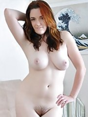 Alice Wonder is all natural and strips naked