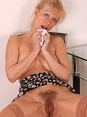 48 Year Old Hairy Pussy Blonde