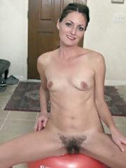 Vanessa Bush has something hairy to show her friends