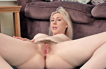 Alison Colins makes her own hairy porn video