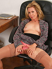 Cute Mature Blonde With Some Fur