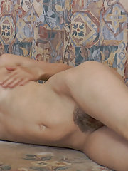 Beautiful stripping and playing with Lara D