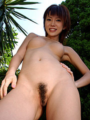 Petite Asian Coed With Some Fur